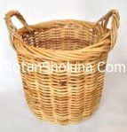 rattan basket with liner