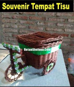 Souvenir Sepeda Tempat Tisu Nice