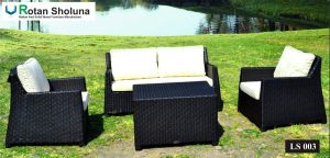 Living Set Outdoor Furniture Rotan