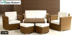 Living Set Sofa Villa Surakarta