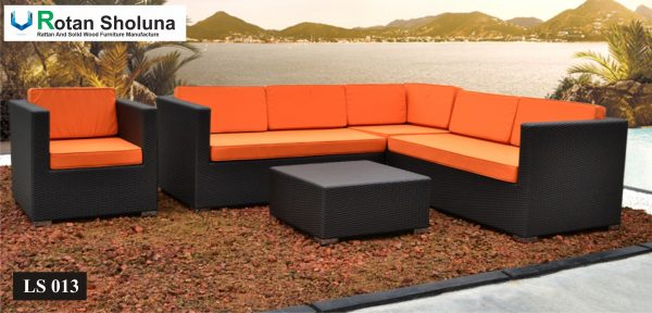 Sofa Bed Tamu Sudut Outdoor