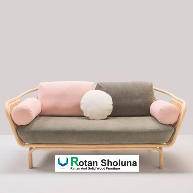 Kursi Rotan Nonton Tv Sofa