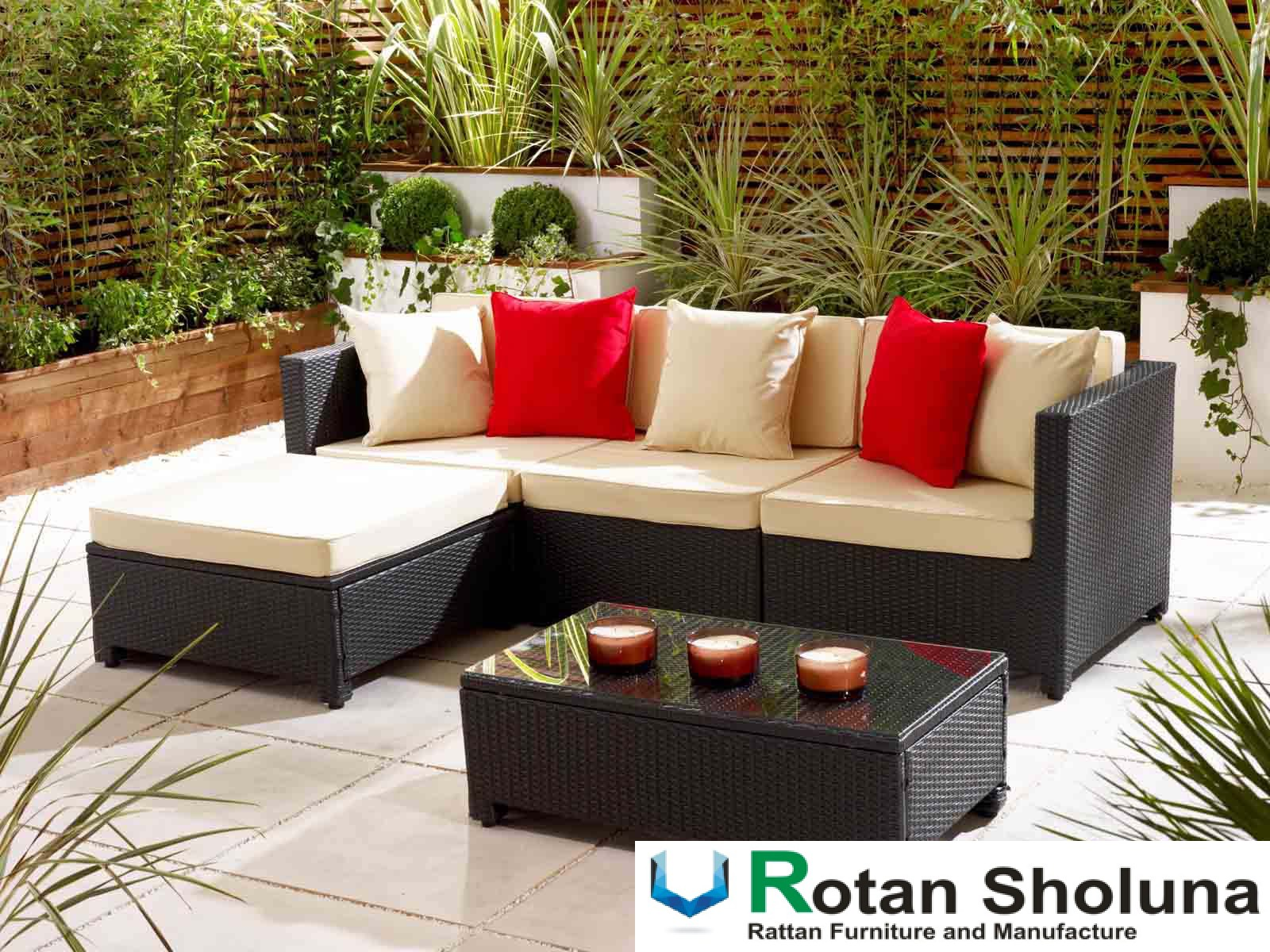 Model Kursi Taman Furniture Rotan Sintetis