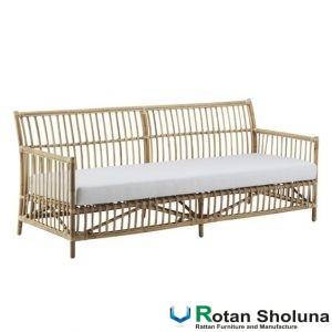 Sofa Bed 3 Seater Rotan Asli